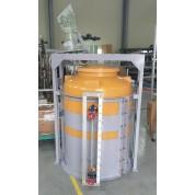 약품탱크 화학탱크 교반기 부착형 대형 PE저장탱크 내산탱크